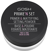 Основа под макияж GOSH Copenhagen Prime`n Set Powder 001 Neutral (7г) -