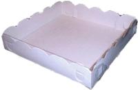 Набор коробок упаковочных для еды Krafteco Пряник малый 150x150x30мм (10шт) -