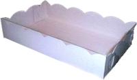 Набор коробок упаковочных для еды Krafteco 2 Пряника 200x120x40мм (10шт) -