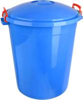 Бак пластиковый Эльфпласт Антей с крышкой / ЕР254 (70л, синий) -