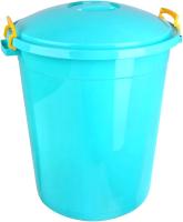 Бак пластиковый Эльфпласт Антей с крышкой / ЕР254 (70л, бирюзовый) -