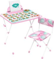 Комплект мебели с детским столом Ника КП2/ЗМ Забавные медвежата -