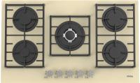 Газовая варочная панель Korting HGG 9835 CTB -