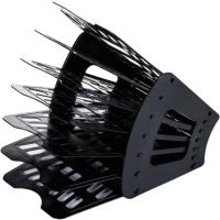 Лоток для бумаг Brauberg Basic / 237019 (черный) -