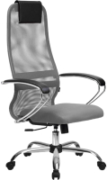 Кресло офисное Metta SU-BK-8 CH (светло-серый) -