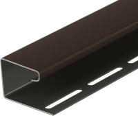 Фасадный профиль Docke J Premium (шоколад) -