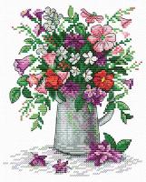 Набор для вышивания М.П.Студия Легкость полевых цветов / М-075м -