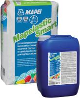 Гидроизоляция цементная Mapei Mapelastic Smart компонент А + компонент В (20кг+10кг) -