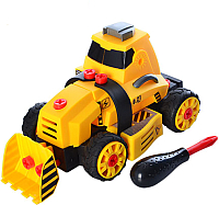 Бульдозер игрушечный Haiyuanquan Строительная машина / QL6008A -