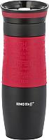 Термокружка KING Hoff KH-4177 (черный/красный) -