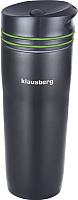 Термокружка Klausberg KB-7149 (черный/зеленый) -