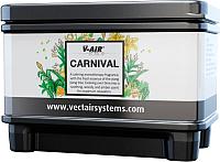 Сменный блок для освежителя воздуха Vectair Systems V-Air Solid Plus Карнавал -