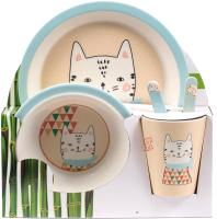 Набор столовой посуды Fresca Котик / BP2524-7 -
