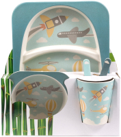 Набор столовой посуды Fresca Самолет / BP2524-013 -