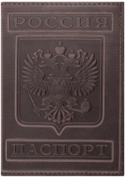 Обложка на паспорт Brauberg Герб / 237190 (коньяк) -