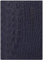 Обложка на паспорт Brauberg Passport / 237196 (темно-синий) -