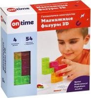 Игра-головоломка On Time Магнитные фигуры 3D / 45023 (4эл) -