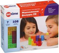 Игра-головоломка On Time Магнитные фигуры 3D / 45018 (7эл) -