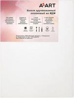 Холст для рисования Azart МДФ 18x24см / AZ011824 (хлопок) -