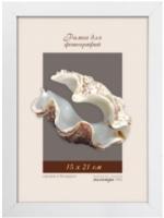 Рамка ПАЛИТРА 1611/14 15x21 (белый) -