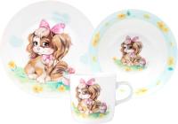 Набор столовой посуды Lefard 87-206 (3пр) -