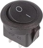 Выключатель клавишный Rexant ON-OFF 36-2550 (черный) -