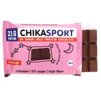 Протеиновый шоколад Chikalab Молочный (12x100г) -