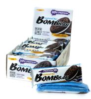 Протеиновые батончики Bombbar Печенье/крем (20x60г) -