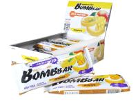 Протеиновые батончики Bombbar Пудинг с ароматом манго и банана (20x60г) -