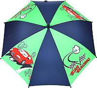 Зонт-трость Капелюш PK-31 (зеленый/синий) -