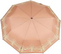 Зонт складной Капелюш 1410 (бежевый) -