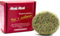Твердый шампунь для волос Meela Meelo Чай с имбирем Активное очищение (85г) -