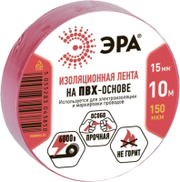 Изолента ЭРА C0036556 (красный) -