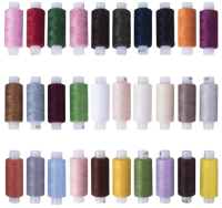 Набор швейных ниток Остров Сокровищ 662787 (30цв) -