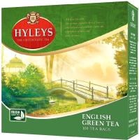 Чай пакетированный Hyleys Английский зеленый / 6134 (100пак) -