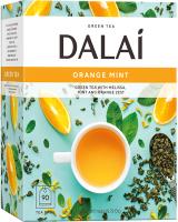Чай пакетированный Dalai Orange Mint зеленый / 11033 (90пак) -