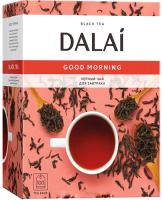 Чай пакетированный Dalai Good Morning черный / 10738 (100пак) -