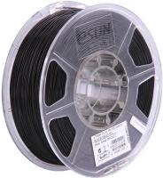 Пластик для 3D печати eSUN PLA / PLA+175B1 (1.75 мм, 1 кг, черный) -