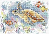 Набор для вышивания М.П.Студия Краски океана / М-199М -