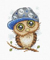 Набор для вышивания М.П.Студия Модный птенчик / М-285М -
