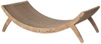 Лежанка-когтеточка Чешир Уфолог / 375-26 (коричневый) -