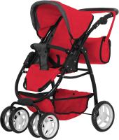 Коляска для куклы Carrello Avanti 2 в 1 / 9662 (Red) -