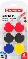 Набор магнитов Brauberg 230757 (6шт) -