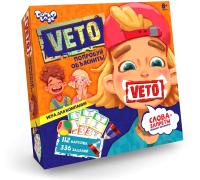 Настольная игра Danko Toys Вето. Попробуй объяснить / VETO-01-01 -