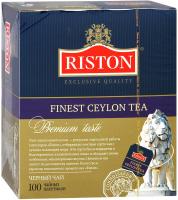 Чай пакетированный Riston Ceylon черный / 8096 (100пак) -