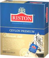 Чай пакетированный Riston Ceylon Premium черный / 8097 (100пак) -