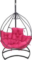 Кресло подвесное Грифонсервис Loft КР2 (черный/красный) -