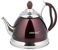 Заварочный чайник KING Hoff KH-3762 (коричневый) -