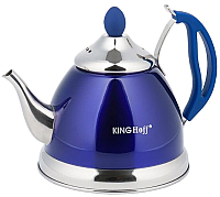 Заварочный чайник KING Hoff KH-3762 (синий) -