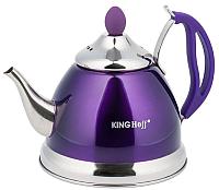 Заварочный чайник KING Hoff KH-3762 (фиолетовый) -